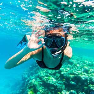 Snorkeling Taormina