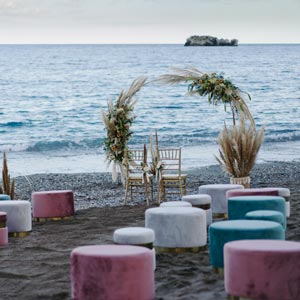 Tao Beach Club Taormina Wedding